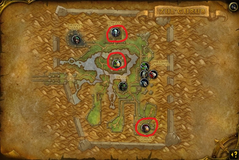Zul'Gurub map