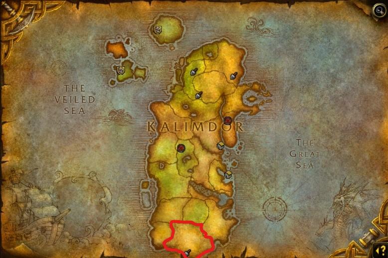 uldum map