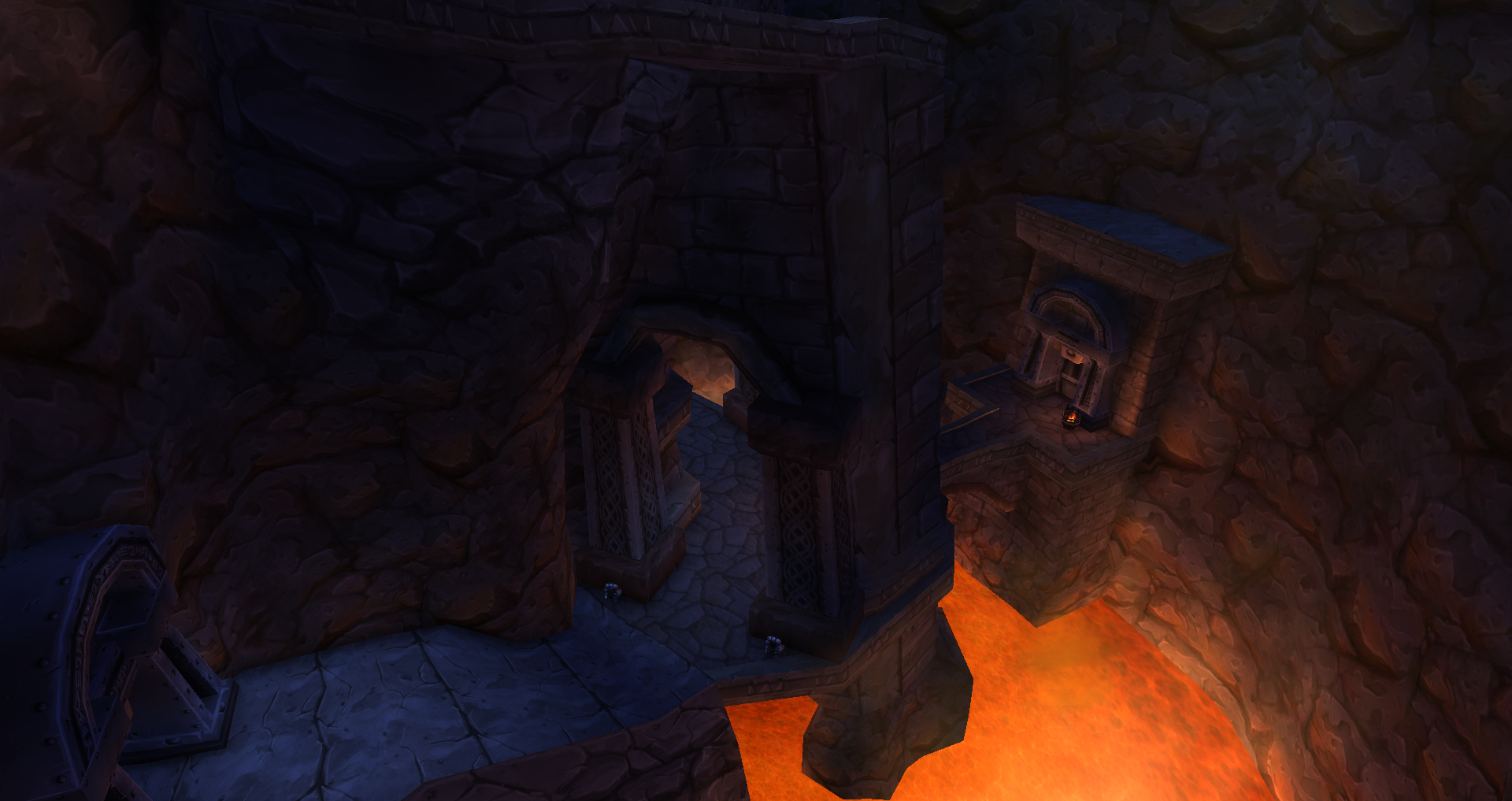 lower level of old ironforge