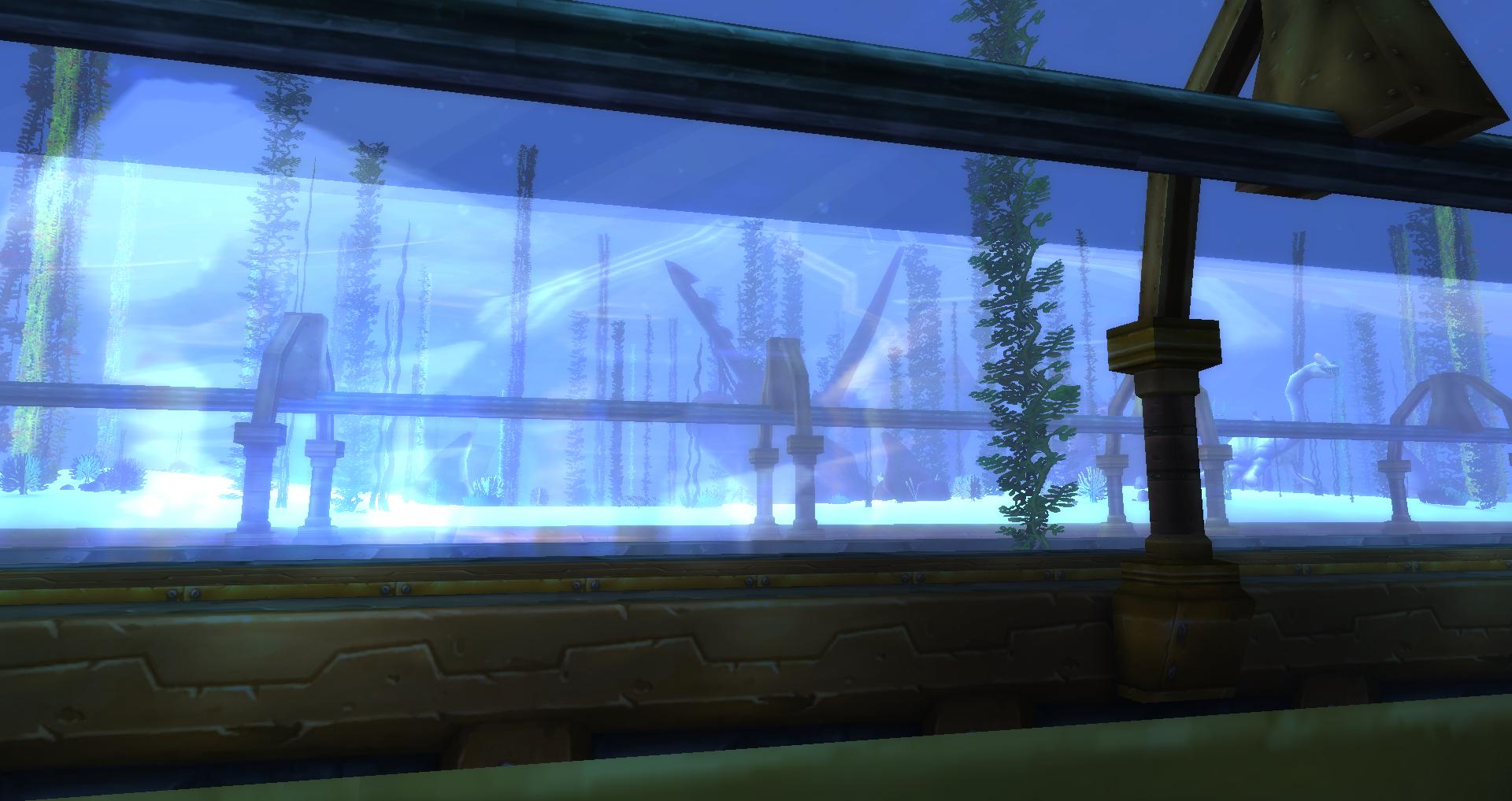 Deeprun Tram Aquarium