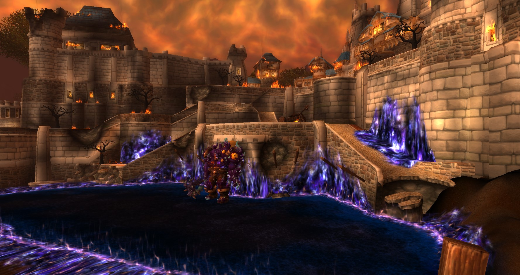 ruins of stormwind city