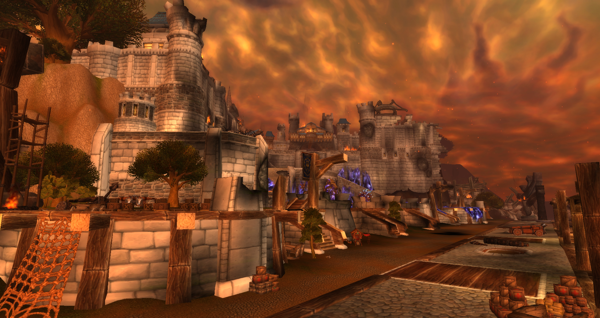 ruins of stormwind docks