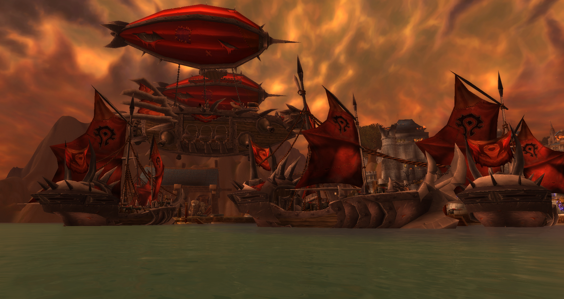 ruins of stormwind harbor