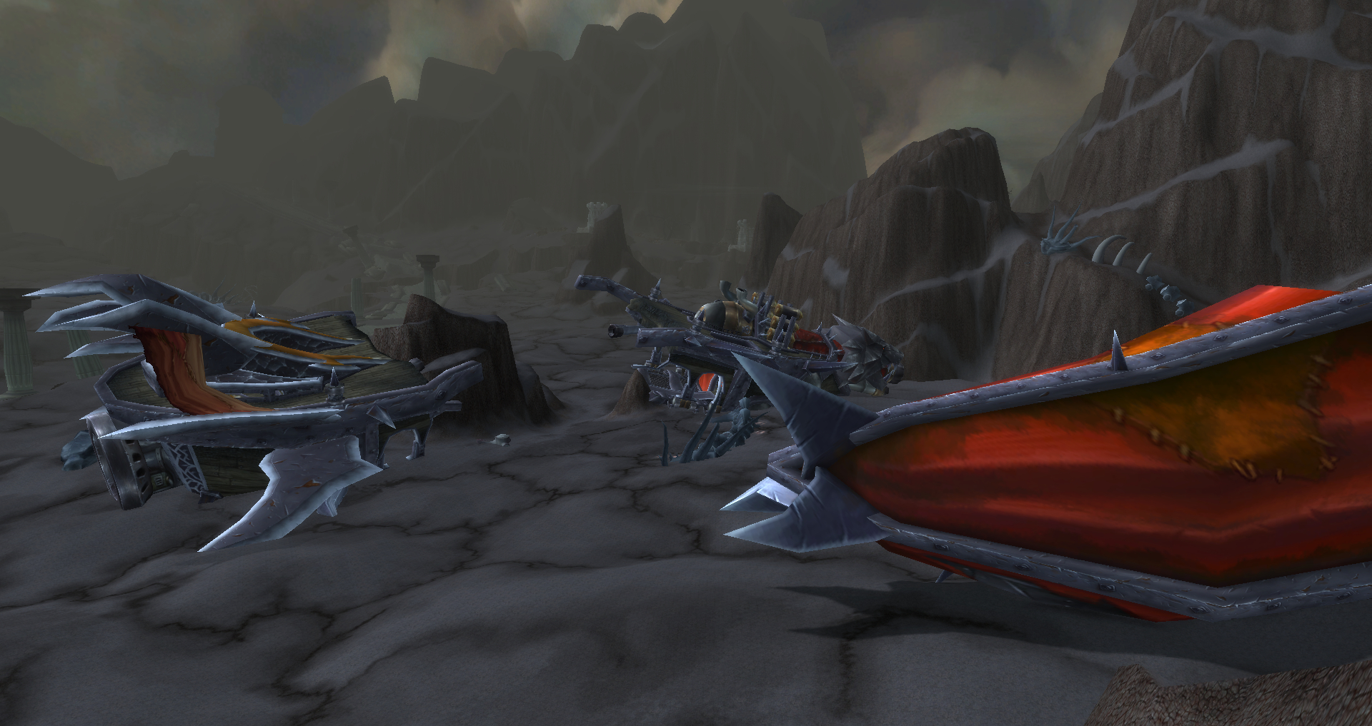 horde gunship wreckage