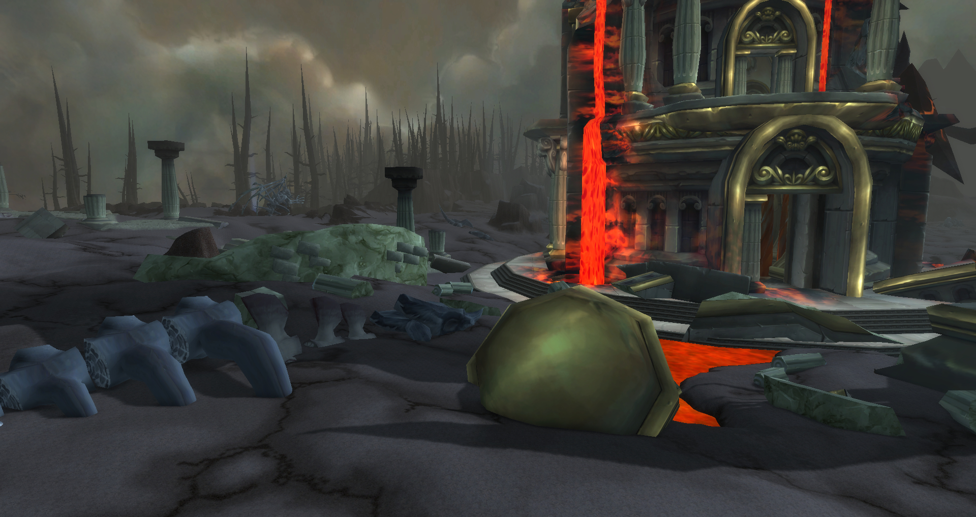 Wyrmrest temple rubble