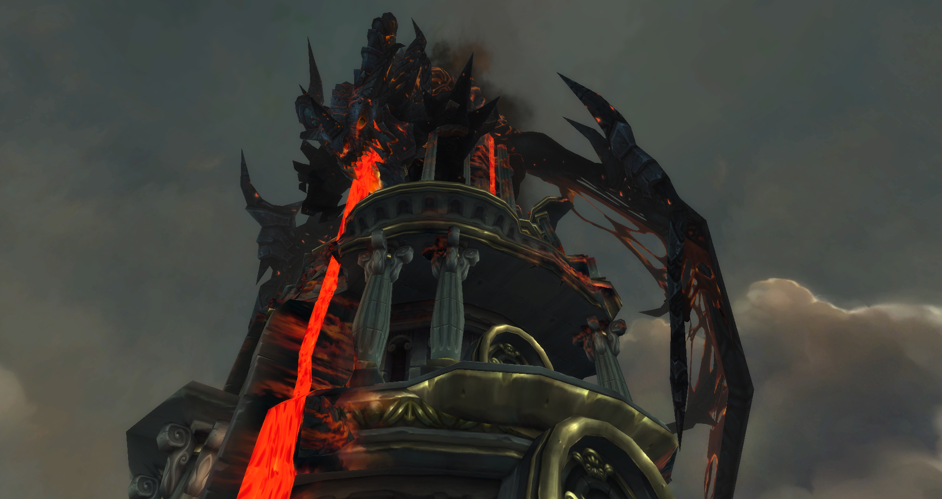 Deathwing corpse end time