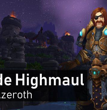 Outside Highmaul Hidden Azeroth