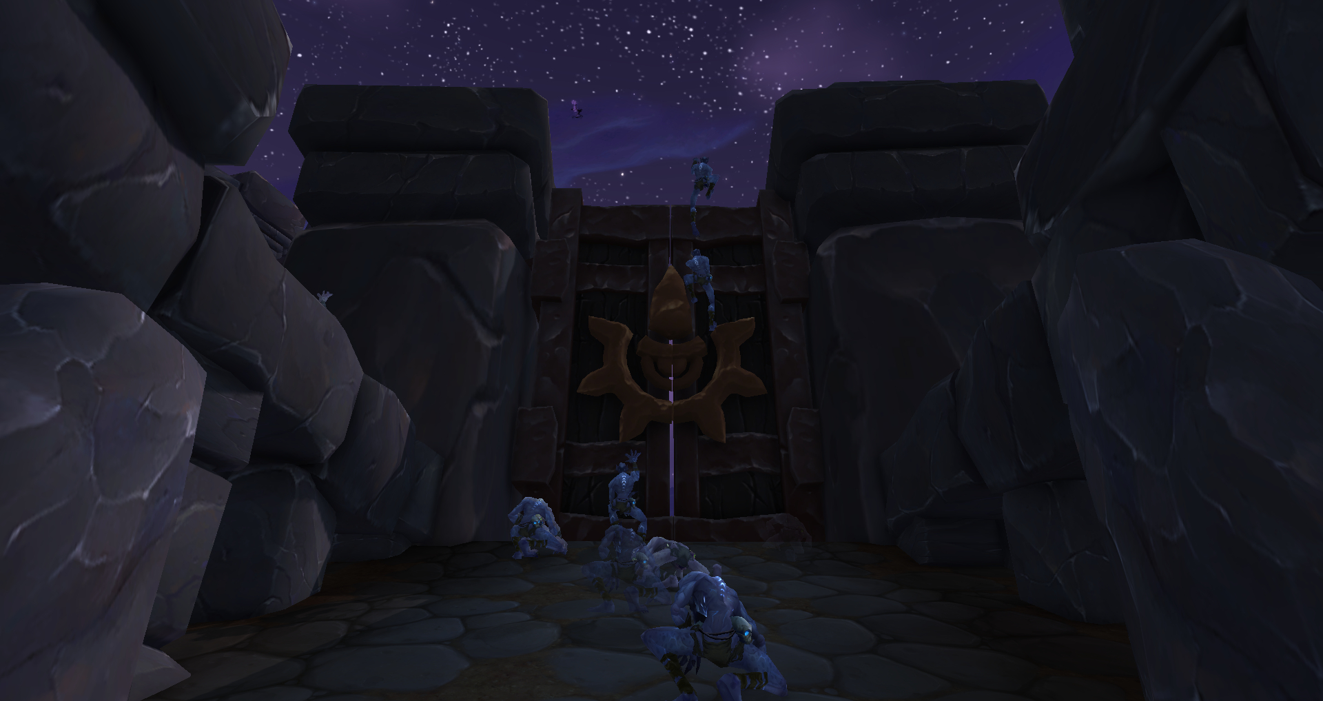 instanced highmaul front gate