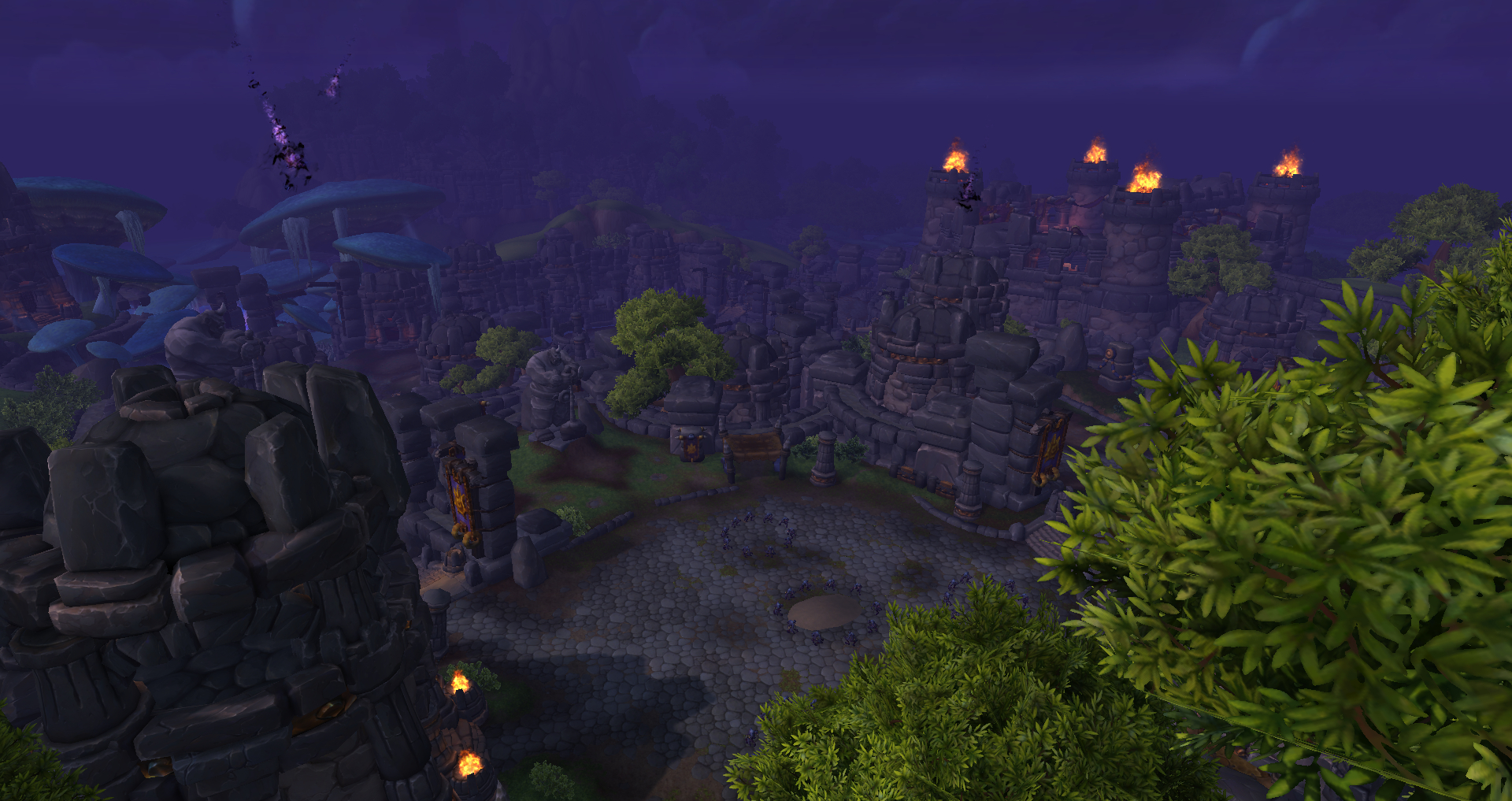 instanced highmaul lower levels
