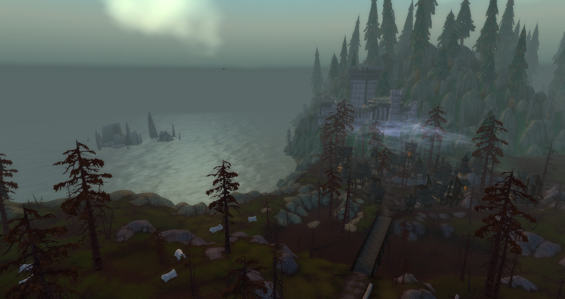 shadowfang keep pyrewood village view