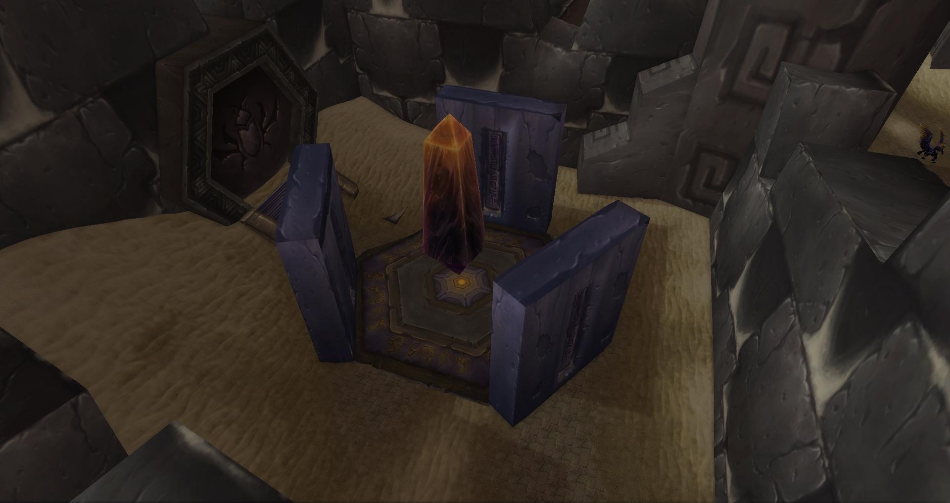 Unused obelisk room