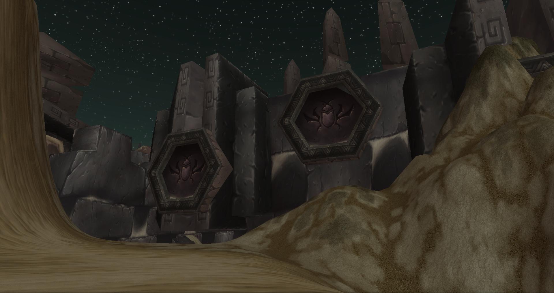 Ahn'Qiraj ruins