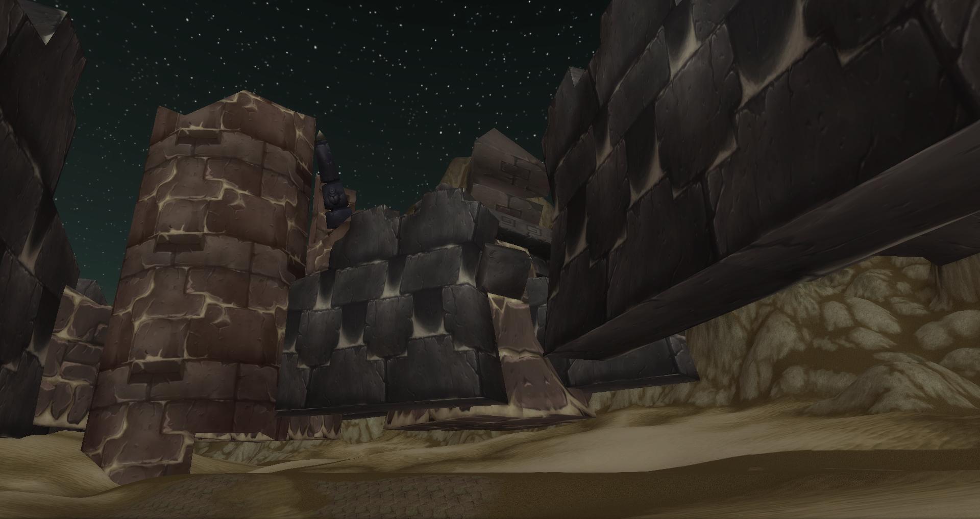 Ruins of Ahn'Qiraj walls